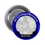 Dans la touche mémoire/bleu affectueux badges