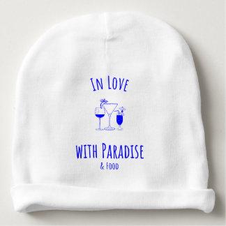 Dans l'amour avec la calotte de paradis bonnet de bébé