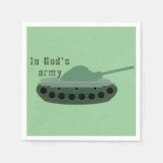 dans l'armée de Dieu (réservoir) Serviette En Papier