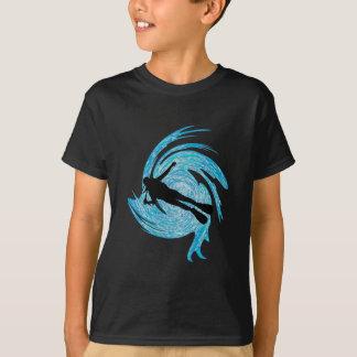 Dans le bleu t-shirt