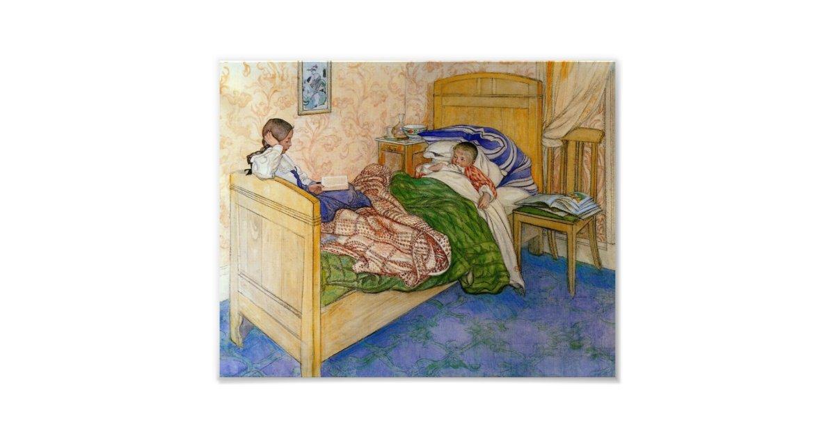 dans le lit 1908 de la maman photo zazzle. Black Bedroom Furniture Sets. Home Design Ideas
