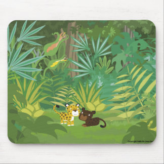 Dans le mousepad de jungle tapis de souris