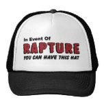 Dans l'événement des chapeaux et des casquettes ch