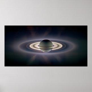 Dans l'ombre de Saturn augmentée Posters
