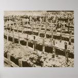 Dans l'ouest rien de neuf : Un cimetière allemand  Posters
