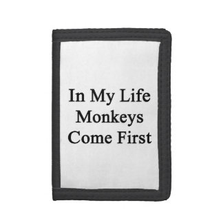 Dans ma vie les singes viennent d'abord