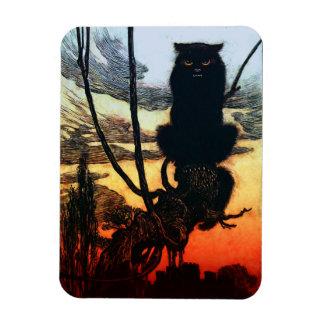 Dans un aimant de chat magnet flexible