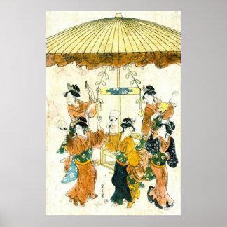 Danse 1791 de Sumiyoshi Posters