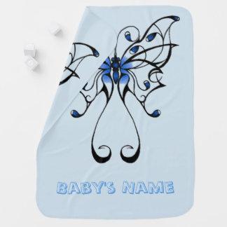 Danse 2 de papillon couvertures pour bébé
