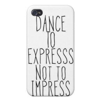 danse à exprimer coques iPhone 4/4S
