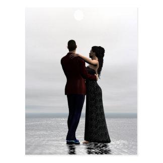 Danse avec moi - carte postale de couples de danse