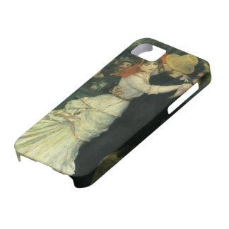 Danse chez Bougival par Pierre Renoir, art vintage Coque Barely There iPhone 5