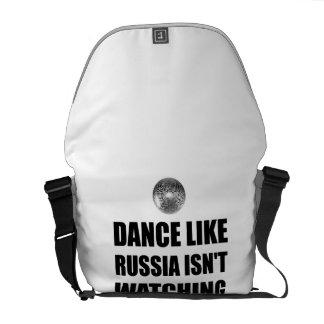 Danse comme la Russie n'observant pas Sacoche