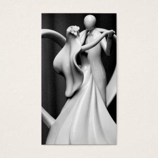 danse d'amour cartes de visite