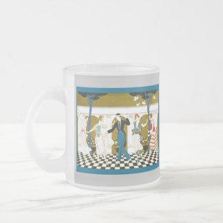 Danse d'art déco tasse à café