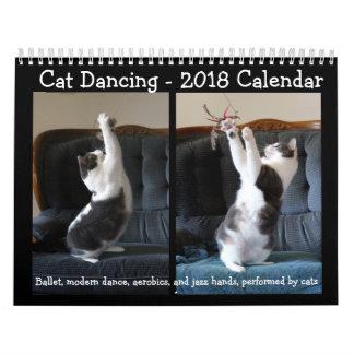 Danse de chat - calendrier 2018