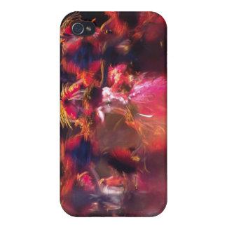 Danse de couleur étuis iPhone 4