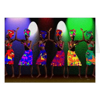 Danse de fraternité carte de vœux