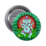 Danse de Ganesh de paix Pin's Avec Agrafe