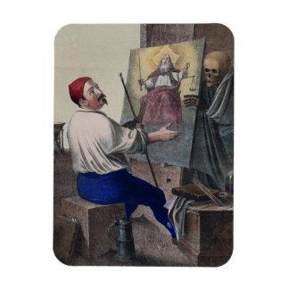 Danse de la mort à Bâle   le peintre Magnets