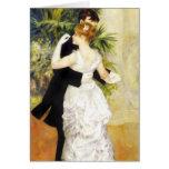 Danse de Renoir dans la carte de note de ville