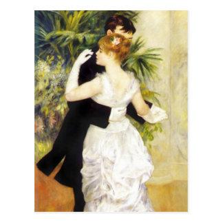Danse de Renoir dans la carte postale de ville