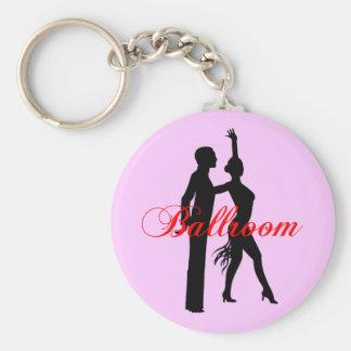 Danse de salon porte-clef