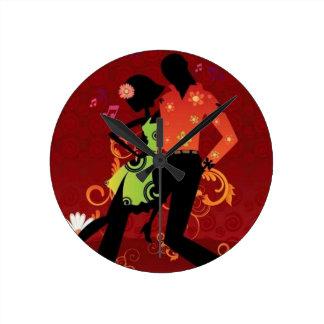 Danse de Salsa Horloges Murales