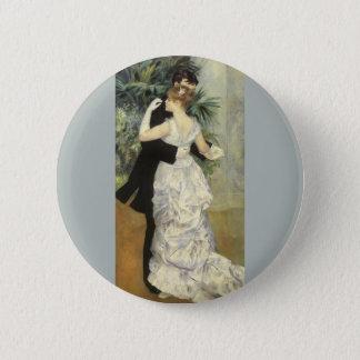 Danse de ville par Pierre Renoir, beaux-arts Pin's