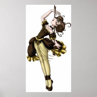 Danse de violoncelle poster