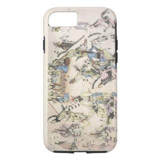 Danse d'herbe (encre sur le papier) coque iPhone 7