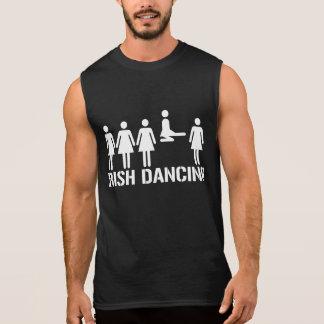 Danse d'Irlandais - T-shirt de folie de mars de