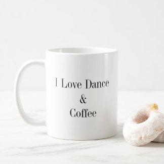 Danse et café mug