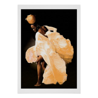 Danse folklorique africaine poster