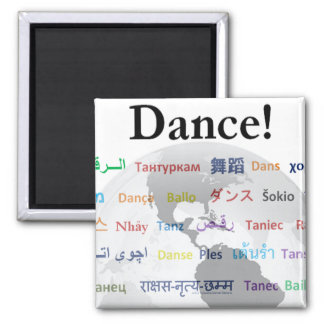 Danse globale - la langue globale aimant