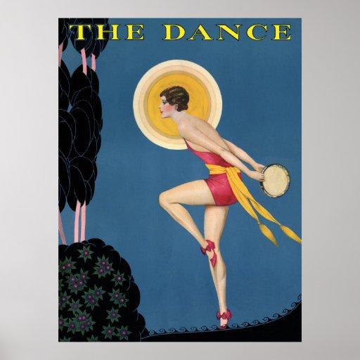 danse par clair de lune poster