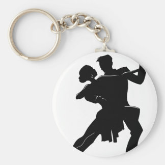 Danse Porte-clé Rond