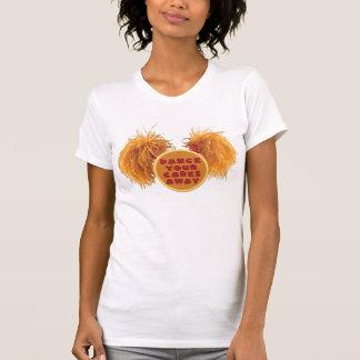 Danse rouge de roche de marionnette votre chemise t-shirts