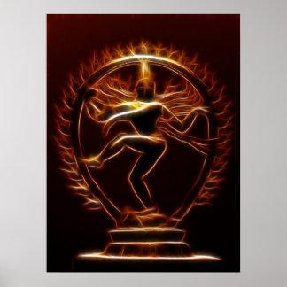 Danse Shiva Posters