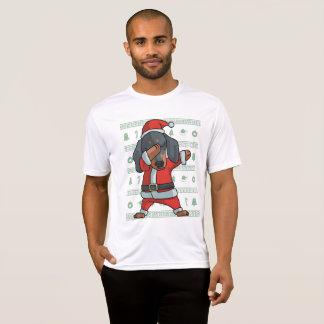 Danse tamponnante de limande de Noël de T-shirt de