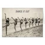 Danse votre anniversaire (carte d'anniversaire)