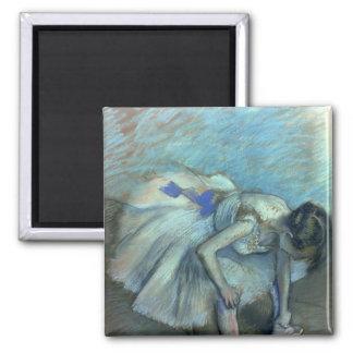 Danseur assis par   d'Edgar Degas, c.1881-83 Aimant