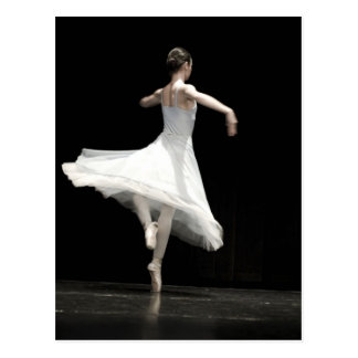 Danseur classique carte postale