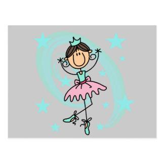 Danseur classique - T-shirts et cadeaux de Brown Carte Postale