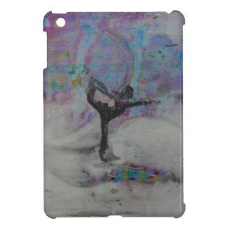 Danseur dans cas d'Ipad de neige le mini Étuis iPad Mini