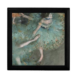 Danseur de balancement - Edgar Degas Grande Boîte À Bijoux Carrée