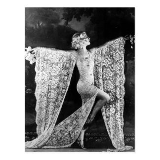 Danseur de cabaret de Paris Carte Postale