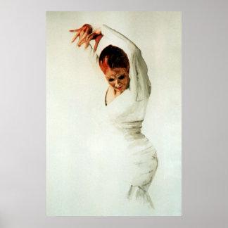 Danseur de flamenco affiches