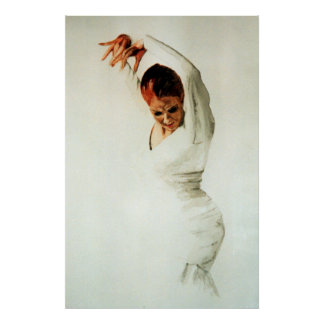 Danseur de flamenco posters