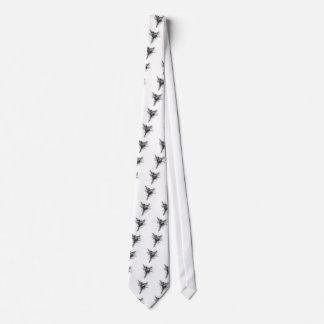 danseur de griffonnage cravate